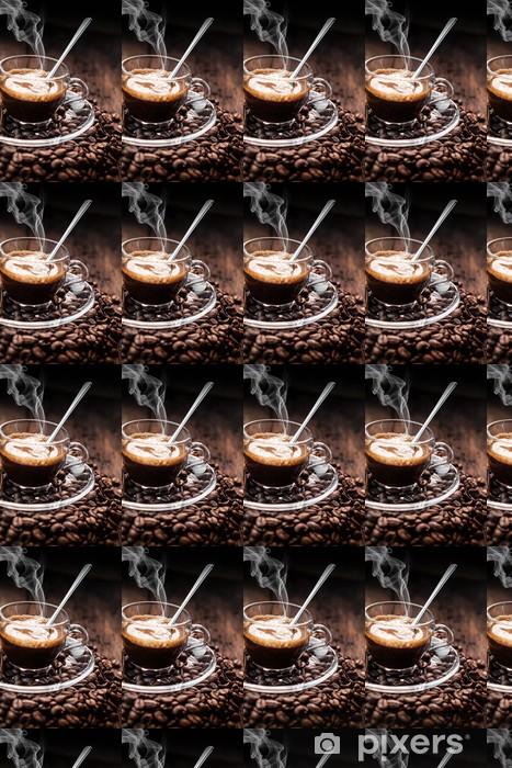 Tapeta na wymiar winylowa Caffè Espresso palacz - Gorące napoje
