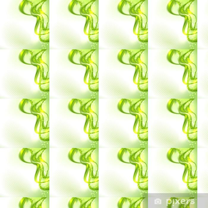 Papier peint vinyle sur mesure Résumé fond vert de ondulation - Merveilles naturelles