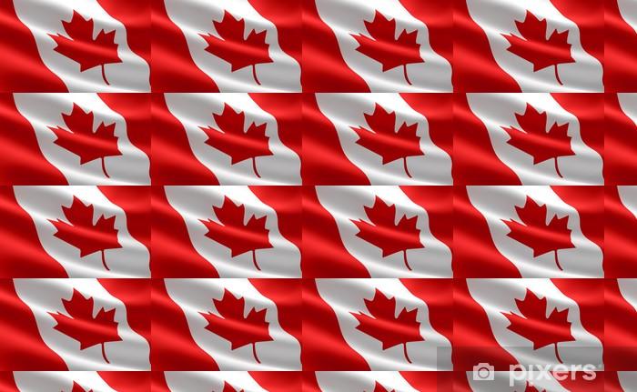 Canadian Flag Wallpaper Vinyl Custom Made