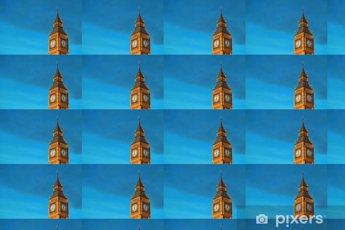Papier peint vinyle sur mesure Big Ben gros plan - Autres