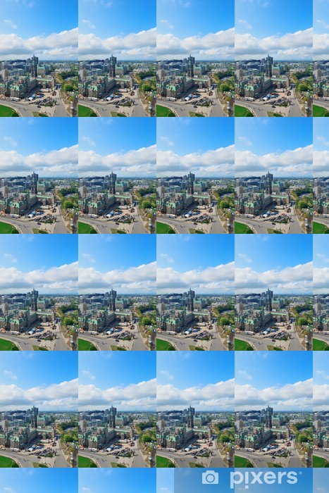 Vinylová tapeta na míru Ottawa panoramatický výhled na město s historickými budovami - Jiné