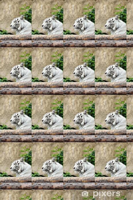 Vinylová tapeta na míru White tiger - Savci