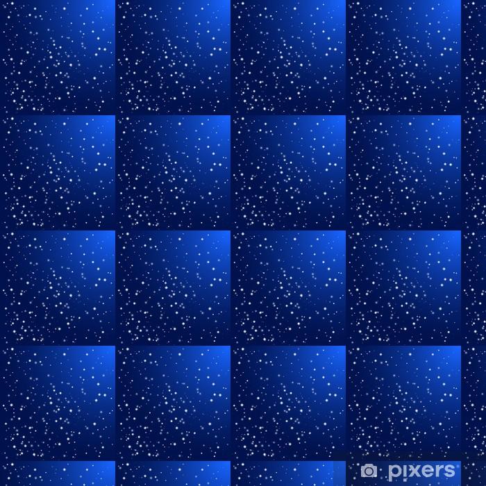 Papier peint vinyle sur mesure Ciel de nuit avec des étoiles. Vecteur de fond - Thèmes