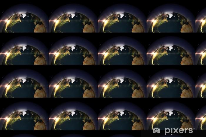 Tapeta na wymiar winylowa Glowing Ziemia - Tła