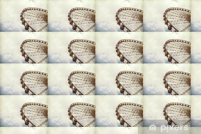 Ferris wheel 1 Vinyl Custom-made Wallpaper - Entertainment