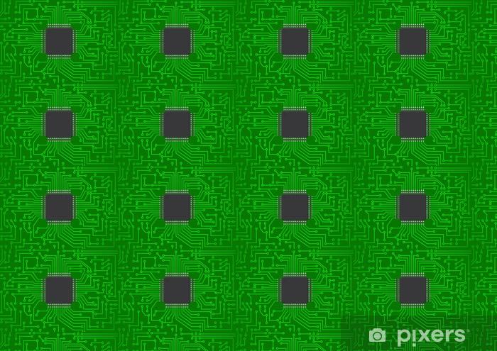 Vinyltapete nach Maß Elektronische Chip - Elektronik