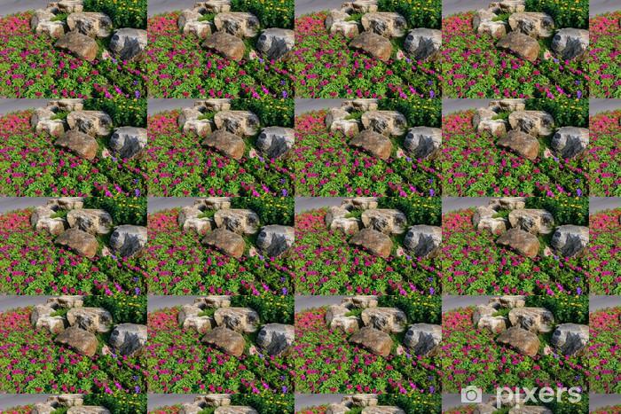 Tapeta na wymiar winylowa Dość utrzymanych ogród kwiatowy - Kwiaty