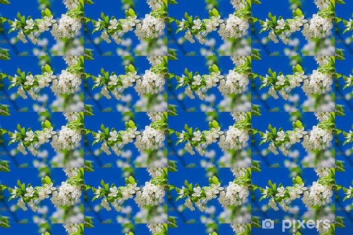 Papier peint vinyle sur mesure Fleurs pommiers - Pommiers