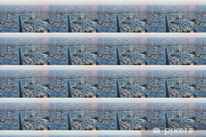 Papel pintado estándar a medida Vista aérea de París. - Otros Otros