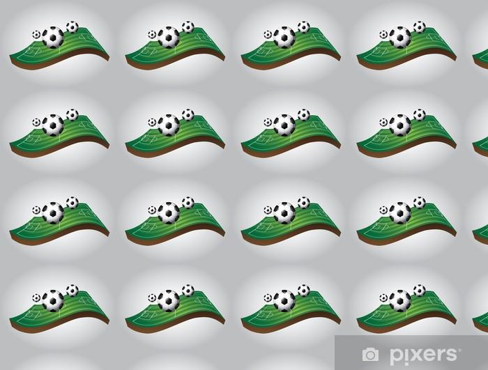Papier peint vinyle sur mesure De soccer de conception - Articles de sport