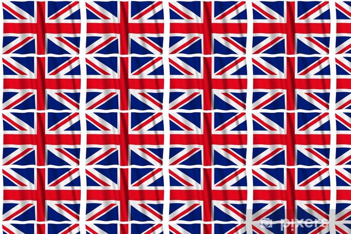 Papier peint vinyle sur mesure Royaume-Uni Drapeau - Drapeaux nationaux