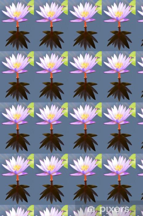 Carta da parati in vinile su misura Fiore di loto - Fiori