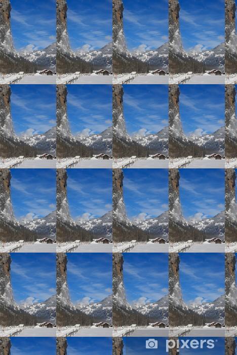 Tapeta na wymiar winylowa Cliff. Lauterbrunnen, Szwajcaria - Europa