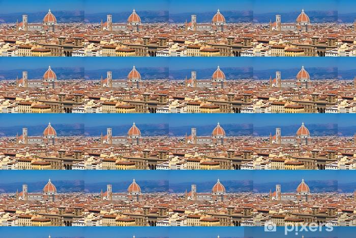 Papier peint vinyle sur mesure Florence cityscape - Europe