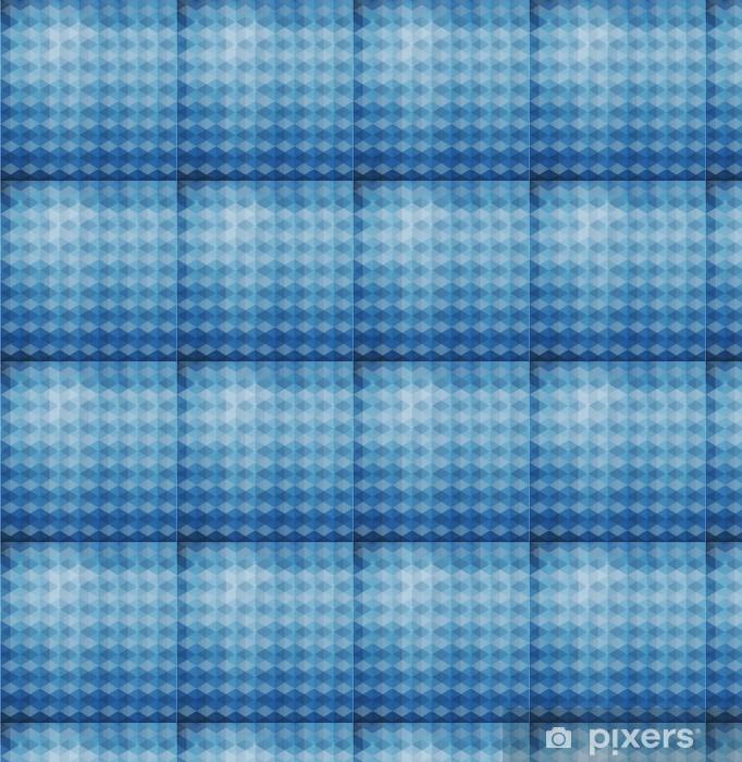 Papier peint vinyle sur mesure Hexagones de triangles fond bleu vecteur géométrique avec gradien - Autres sentiments
