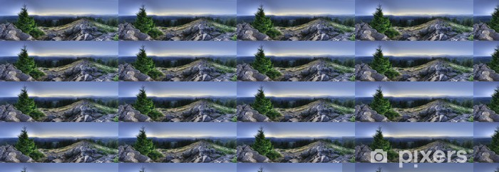 Papier peint vinyle sur mesure HDR Panorama du Pisga - Thèmes