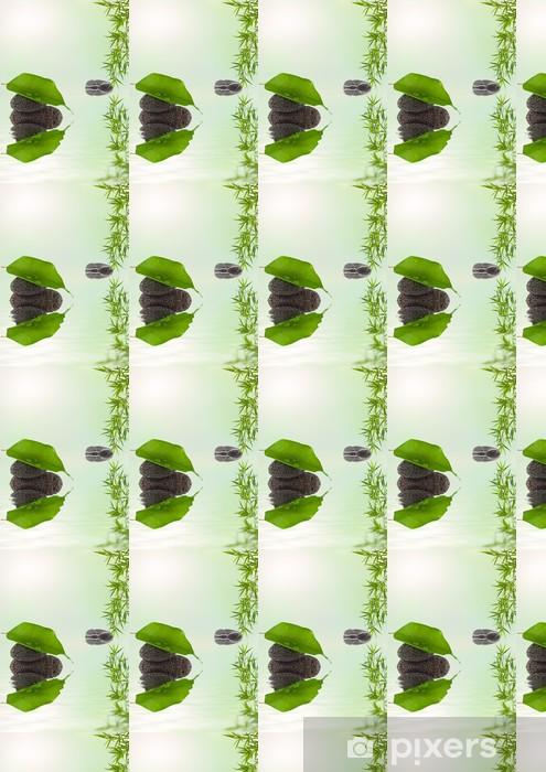 Papier peint vinyle sur mesure Composition nature détente - Plantes