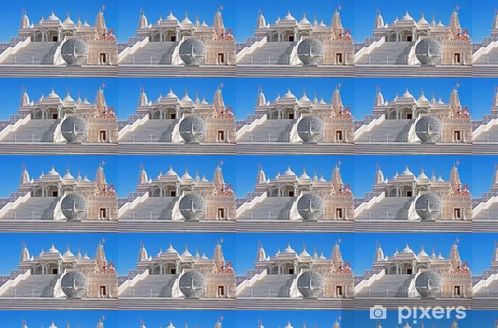 Vinylová tapeta na míru Hind Mandir chrám z mramoru - Veřejné budovy