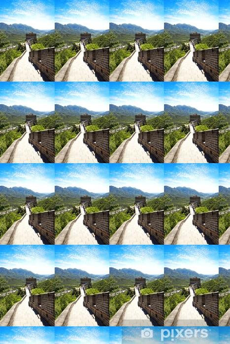 Tapeta na wymiar winylowa Wielki Mur Chiński - Azja
