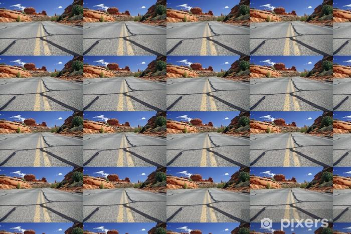 Vinyltapete nach Maß Straße in den USA, Arches National Park in der Nähe von Moab - Straßenverkehr