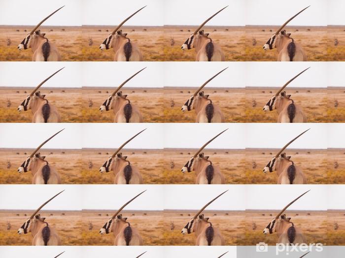 Papier peint vinyle sur mesure Antilope oryx - Afrique