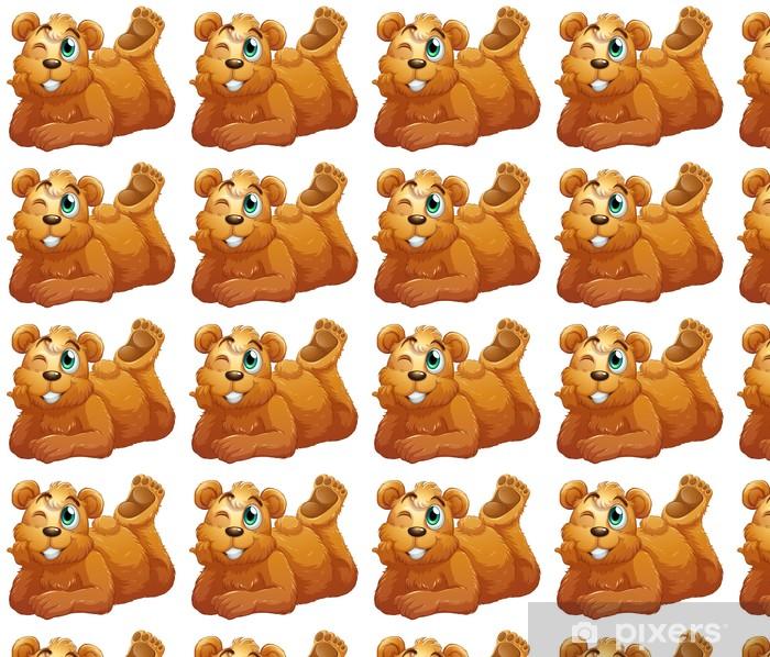 Tapeta na wymiar winylowa Niedźwiedź brunatny - Ssaki