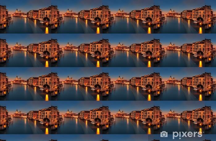 Papier peint vinyle sur mesure Grand Canal au crépuscule - Thèmes