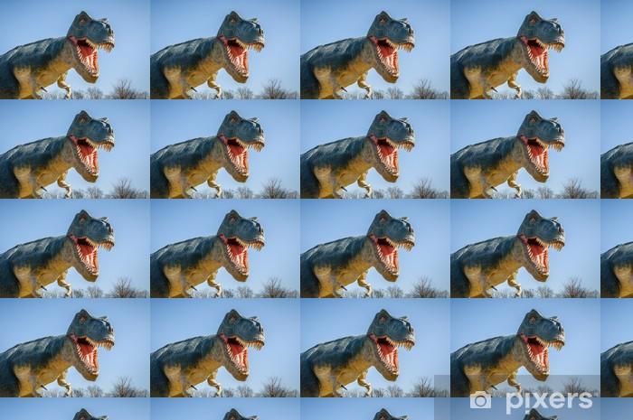Vinylová tapeta na míru Agresivní T-Rex - Témata