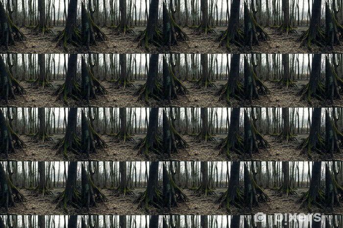 Vinyltapete nach Maß Dark Forest - Internationale Feste