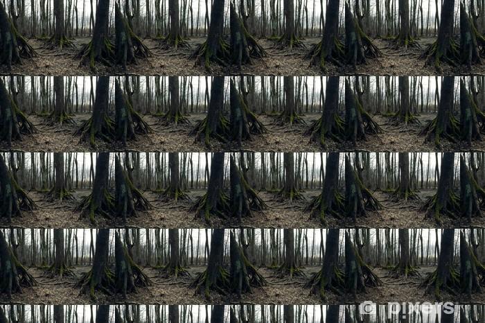 Tapeta na wymiar winylowa Dark forest - Święta międzynarodowe