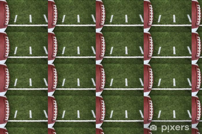 Vinyltapete nach Maß Fußballfeld - American Football