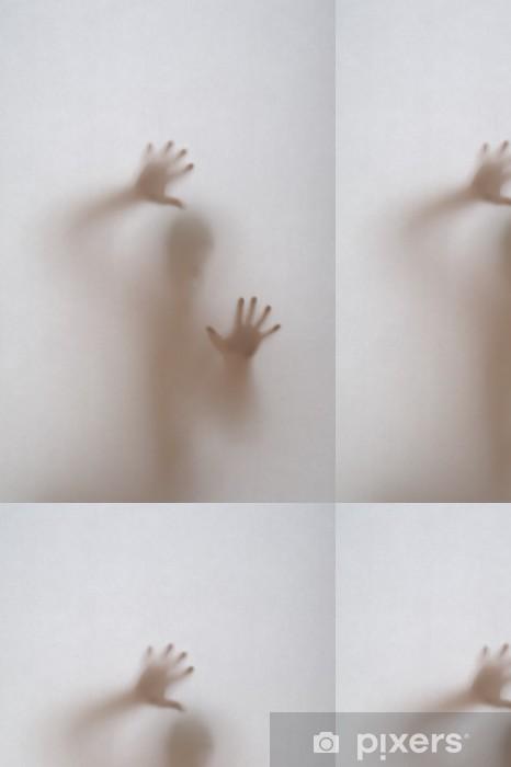 Vinylová Tapeta Za oknem s obskurní skla - Život