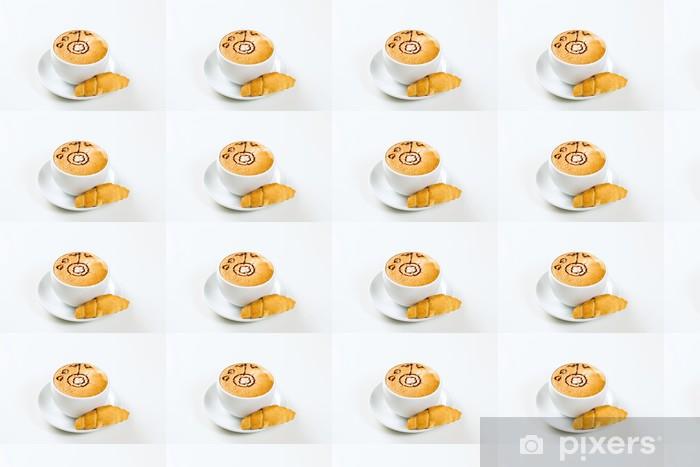 Papier peint vinyle sur mesure Cup of coffee - Boissons chaudes