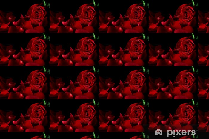Papel de parede em vinil à sua medida Red rose - Celebrações Internacionais