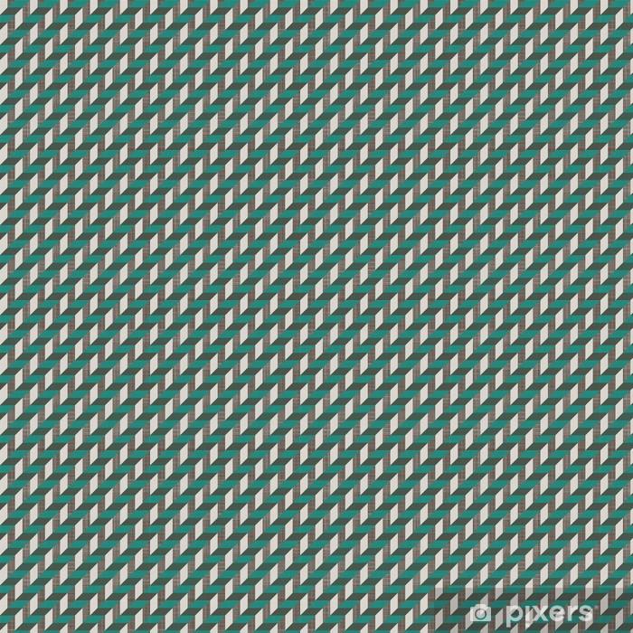 Tapeta na wymiar winylowa Szwu retro wzór z linii ukośnych - Tła