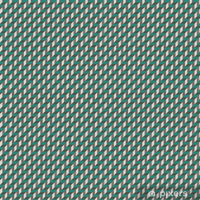seamless retro pattern with diagonal lines Vinyl custom-made wallpaper - Backgrounds