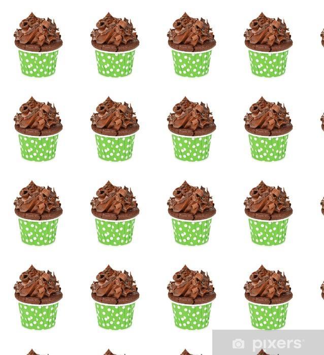 Tapeta na wymiar winylowa Babeczki czekoladowe - Słodycze i desery
