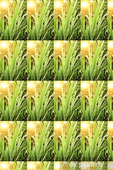 Tapeta na wymiar winylowa Zielone liście - Kwiaty