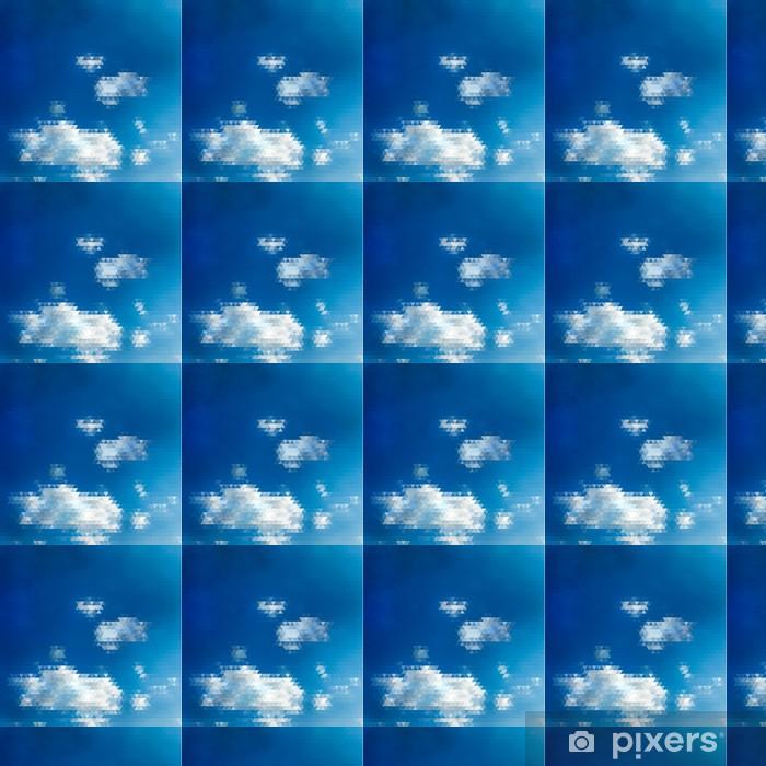 Tapeta na wymiar winylowa Streszczenie niebo ilustracji z trójkątnym wzorem - Niebo