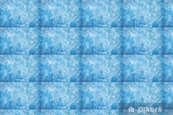 Vinylová tapeta na míru Ledově modrá - Roční období