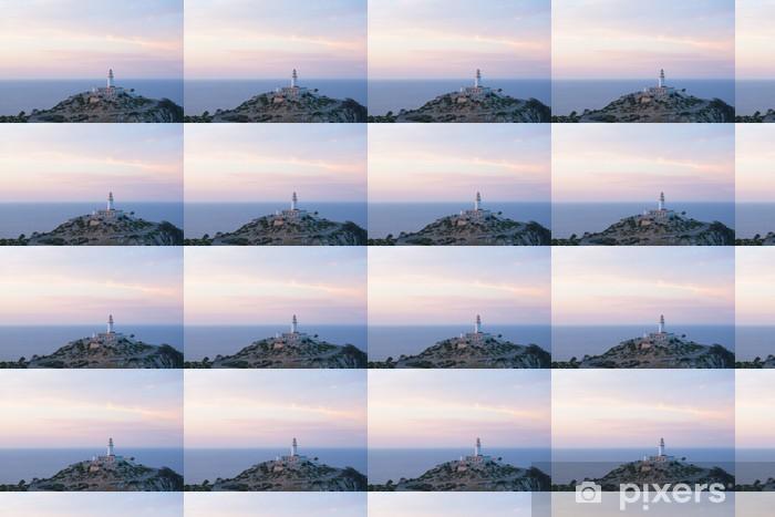 Papier peint vinyle sur mesure Le phare sur l'île de Majorque, Espagne - Europe