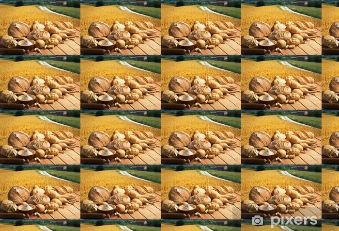 Tapeta na wymiar winylowa Chleb - Posiłki