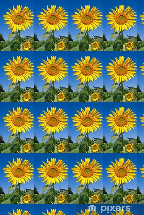 Vinyl behang, op maat gemaakt Sunflower - Bloemen