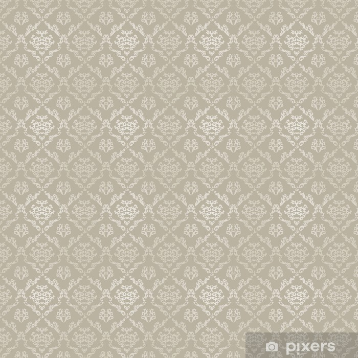Seamless Geometric Pattern in Islamic Style. Vinyl custom-made wallpaper - Raw Materials