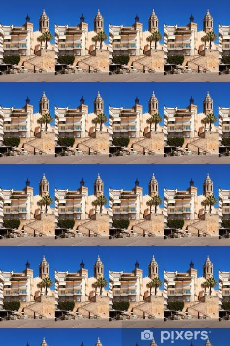 Vinyltapete nach Maß Kirche von Sant Bartomeu i Santa Tecla in Sitges - Europa