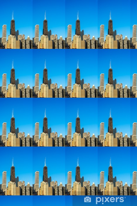 Tapeta na wymiar winylowa Pionowe Chicago Miasta - Ameryka