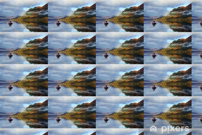 Vinyltapete nach Maß Herbstfarben in Highlands, Schottland, Europa - Europa