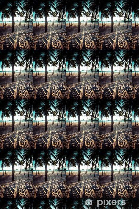 Papier peint vinyle sur mesure Vue de la plage d'Ipanema dans la soirée, le Brésil - Villes américaines