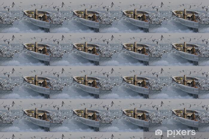 Papier peint vinyle sur mesure Lançon pêche - Eau