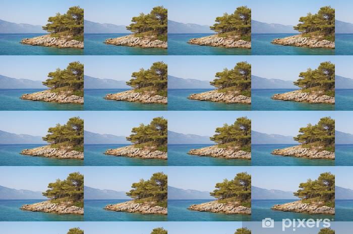 Tapeta na wymiar winylowa Morze Egejskie krajobraz. Turcja. Marmaris. - Bliski Wschód